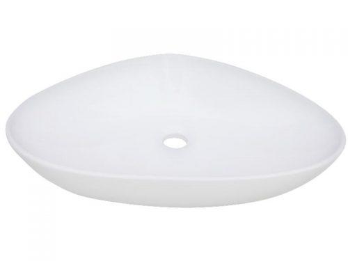 Umývadlo na dosku Glacera Vallone 58,5x38,5 cm, bez prepadu