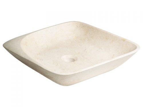 Umývadlo na dosku Triomini Lapis 46x46 cm, bez prepadu